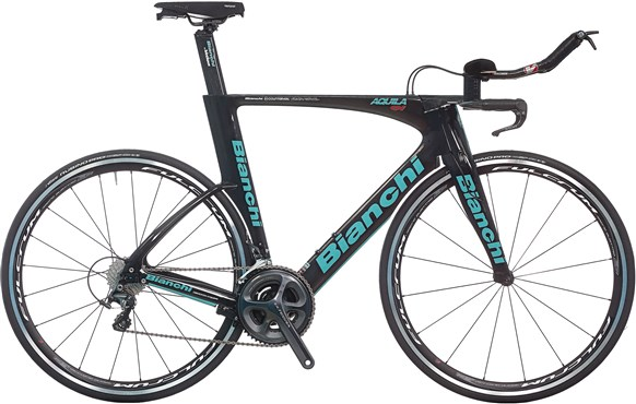 Image of Bianchi Aquila CV Ultegra 2017 - Triathlon Bike