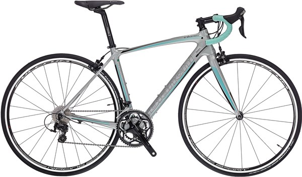 Image of Bianchi Intenso Dama Bianca 105 2017 - Road Bike