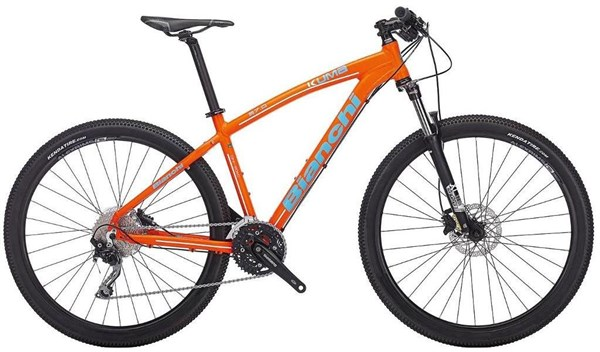 "Image of Bianchi Kuma 27.0 - XT/Deore 27.5""  Mountain Bike 2017 - Hardtail MTB"