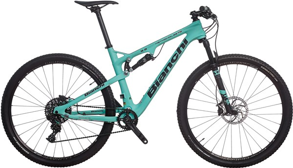 Bianchi Methanol 9.2 FS - X01/X1 29er Mountain Bike 2017 - Full Suspension MTB