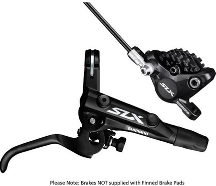 Image of Shimano BR-M7000 SLX Bled I-Spec-II Ready Brake Lever / Post Mount Calliper
