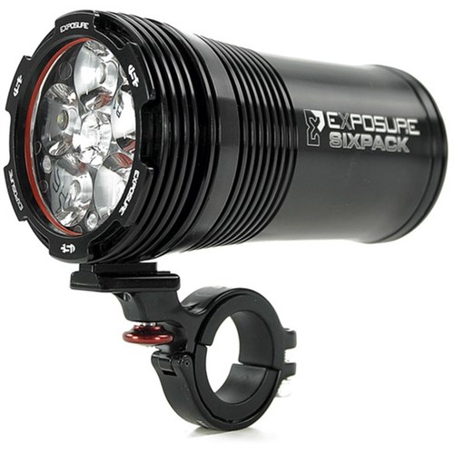 Exposure Six Pack Mk7 Rechargeable Front Light