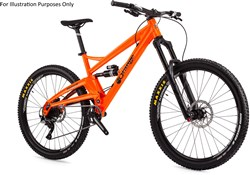 "Orange Alpine 6 S 27.5"" Mountain Bike 2017 - Full Suspension MTB"