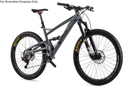"Orange Four Pro 27.5"" Mountain Bike 2017 - Full Suspension MTB"