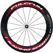 Fulcrum Racing Speed XLR 80 Carbon Tubular Road Wheelset
