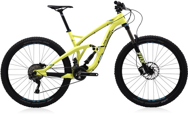 "Polygon Collosus T6 27.5"" Mountain Bike 2017 - Full Suspension MTB"