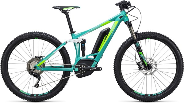 "Image of Cube Access WLS Hybrid 120 SL 500 27.5"" Womens  2017 - Electric Bike"