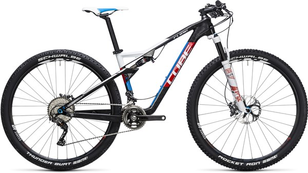Image of Cube Ams 100 C:68 SL 29er  Mountain Bike 2017 - Full Suspension MTB