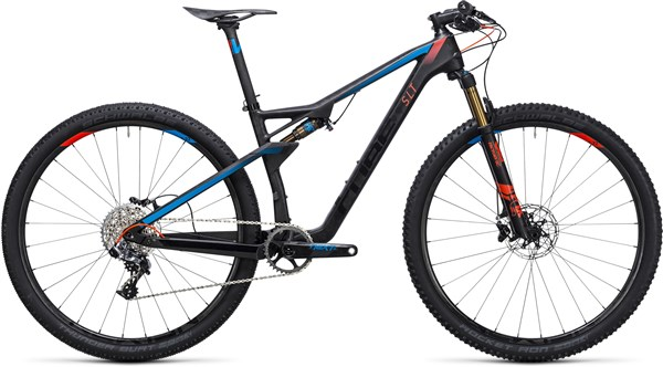 Image of Cube Ams 100 C:68 SLT 29er  Mountain Bike 2017 - Full Suspension MTB