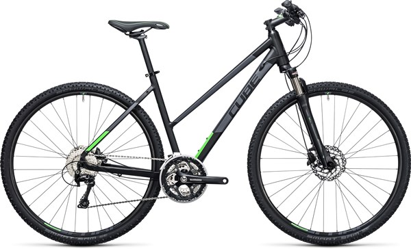 Image of Cube Cross 28 Trapeze  2017 - Hybrid Sports Bike