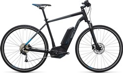 Product image for Cube Cross Hybrid Pro 400  2017 - Electric Hybrid Bike