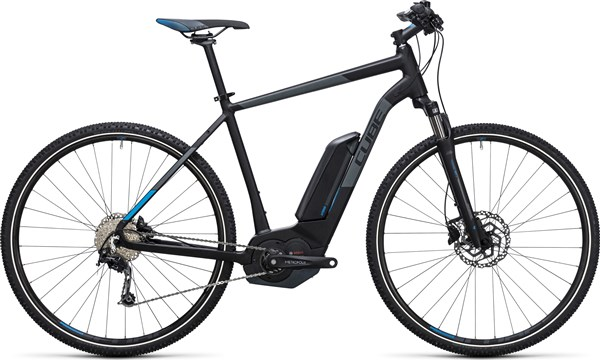 Image of Cube Cross Hybrid Pro 400 28  2017 - Electric Bike