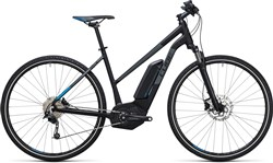 Product image for Cube Cross Hybrid Pro 500 Trapeze  2017 - Electric Hybrid Bike