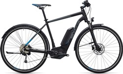 Product image for Cube Cross Hybrid Pro Allroad 400  2017 - Electric Hybrid Bike