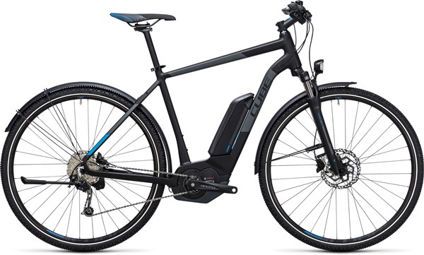 Image of Cube Cross Hybrid Pro Allroad 400  2017 - Electric Bike