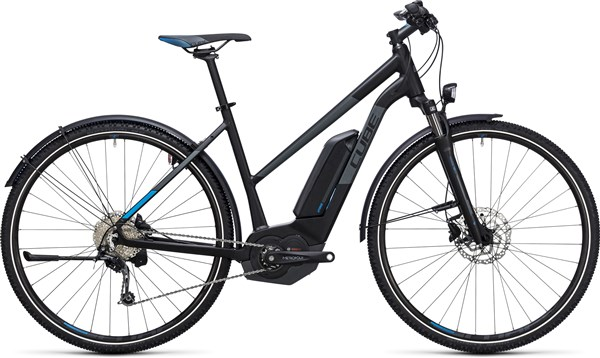 Image of Cube Cross Hybrid Pro Allroad 400  Trapeze  2017 - Electric Bike