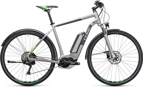 Image of Cube Cross Hybrid Race Allroad 500  2017 - Electric Bike