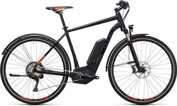Image of Cube Cross Hybrid SL Allroad 500  2017 - Electric Bike
