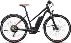 Product image for Cube Cross Hybrid SL Allroad 500 Trapeze  2017 - Electric Hybrid Bike