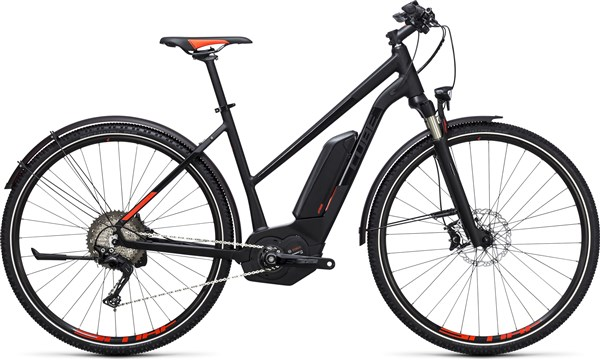 Image of Cube Cross Hybrid SL Allroad 500  Trapeze  2017 - Electric Bike
