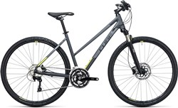 Product image for Cube Cross Pro  Trapeze  2017 - Hybrid Sports Bike