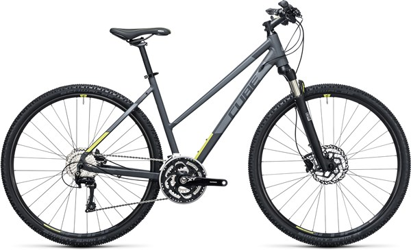 Image of Cube Cross Pro  Trapeze  2017 - Hybrid Sports Bike