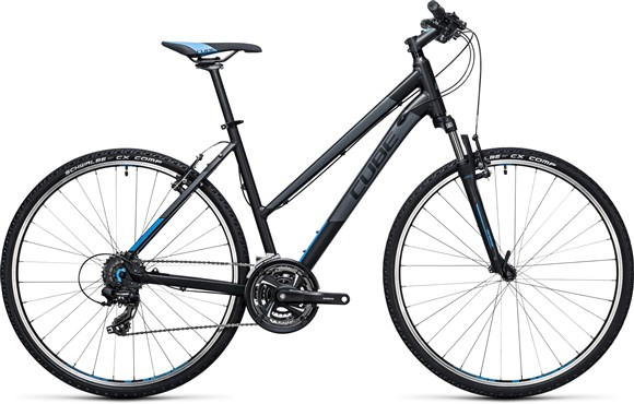 Image of Cube Curve 28 Trapeze  2017 - Hybrid Sports Bike