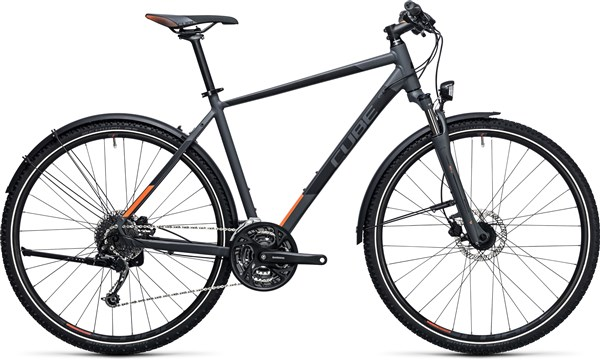Image of Cube Curve Allroad  2017 - Hybrid Sports Bike