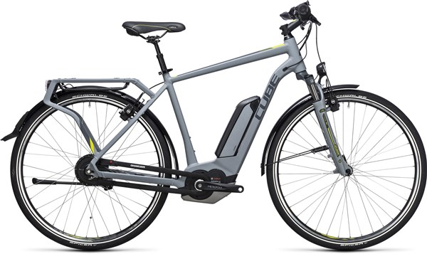 Image of Cube Delhi Hybrid 500  2017 - Electric Bike