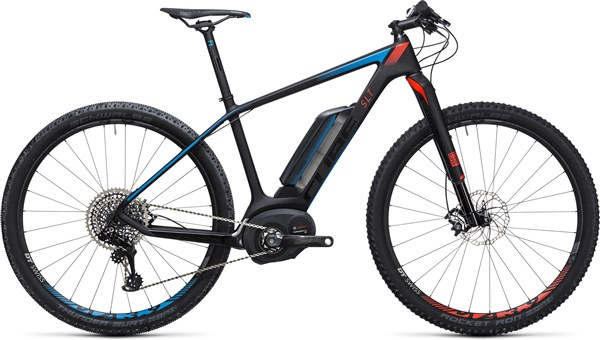 Image of Cube Elite Hybrid C:62 SLT 500 29er 2017 - Electric Bike