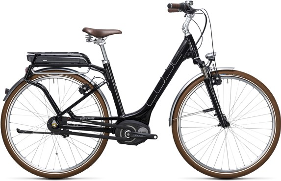 Image of Cube Elly Cruise Hybrid 400  Easy Entry  2017 - Electric Bike