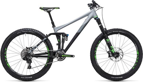 "Cube Fritzz 180 HPA Race 27.5""  Mountain Bike 2017 - Full Suspension MTB"