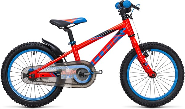 Image of Cube Kid 160 Action Team 16W  2017 - Kids Bike