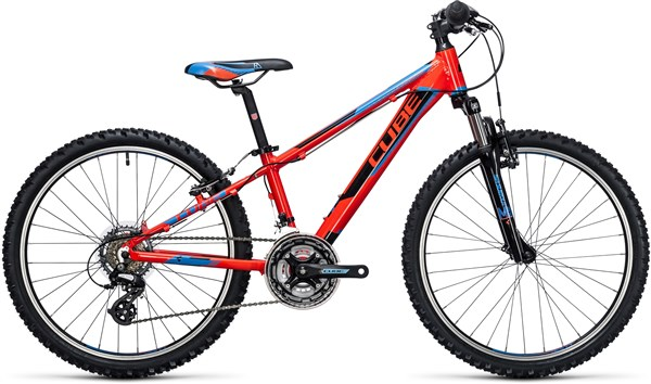 Image of Cube Kid 240 Action Team 24W  2017 - Junior Bike