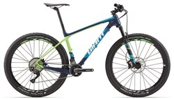 "Giant XTC Advanced 2 27.5"" Mountain Bike 2017 - Hardtail MTB"