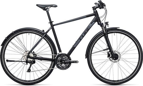 Image of Cube Nature Allroad  2017 - Hybrid Sports Bike
