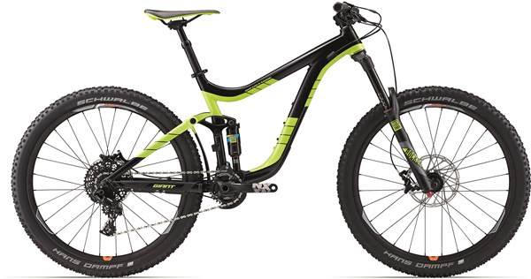 "Image of Giant Reign 2 27.5"" Mountain Bike 2017 - Full Suspension MTB"