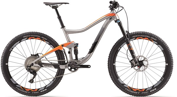 "Image of Giant Trance 1 27.5"" Mountain Bike 2017 - Full Suspension MTB"