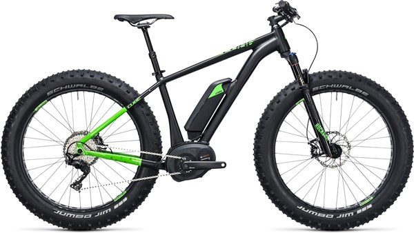 "Image of Cube Nutrail Hybrid 500 26"" 2017 - Electric Bike"