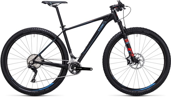 Image of Cube Reaction HPA SL 29er Mountain Bike 2017 - Hardtail MTB