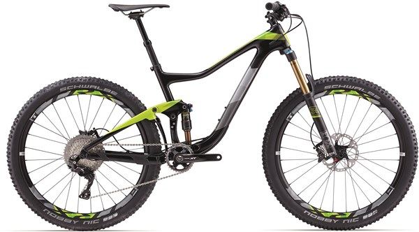 "Image of Giant Trance Advanced 1 27.5"" Mountain Bike 2017 - Full Suspension MTB"