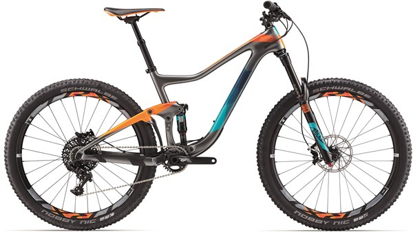 "Image of Giant Trance Advanced 2 27.5"" Mountain Bike 2017 - Full Suspension MTB"