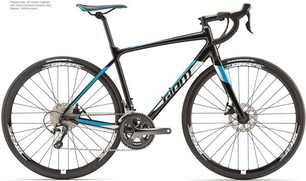 Image of Giant Contend SL 2 Disc 2017 - Road Bike