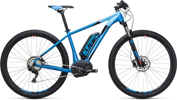 "Cube Reaction Hybrid HPA Race 500 27.5""  2017 - Electric Bike"