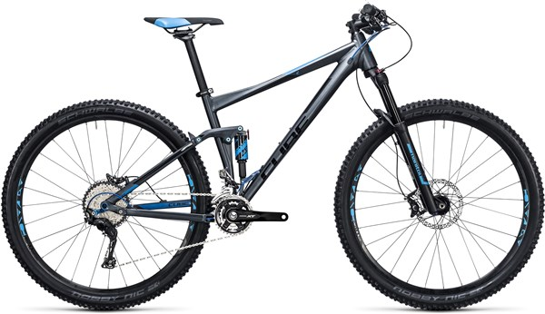 "Image of Cube Stereo 120 HPA Race 27.5""  Mountain Bike 2017 - Full Suspension MTB"