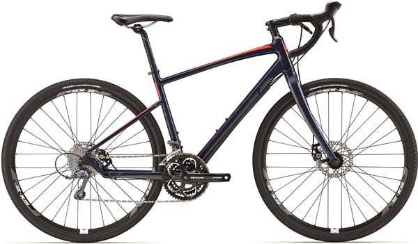 Image of Giant Revolt 3 2017 - Road Bike