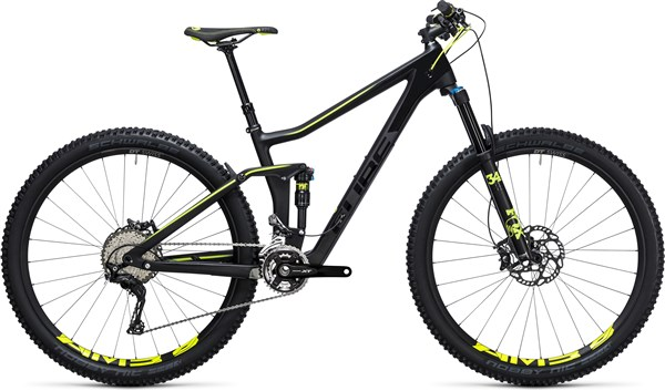 Image of Cube Stereo 140 C:62 SL 29er  Mountain Bike 2017 - Full Suspension MTB