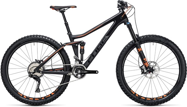"Image of Cube Stereo 140 C:62 Race 27.5""  Mountain Bike 2017 - Full Suspension MTB"