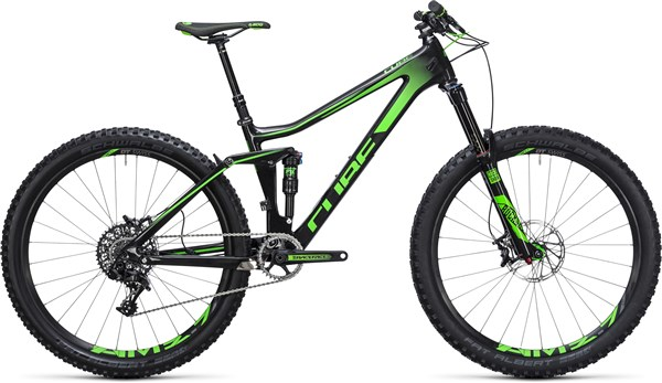 "Image of Cube Stereo 140 C:62 Sl 27.5""  Mountain Bike 2017 - Full Suspension MTB"