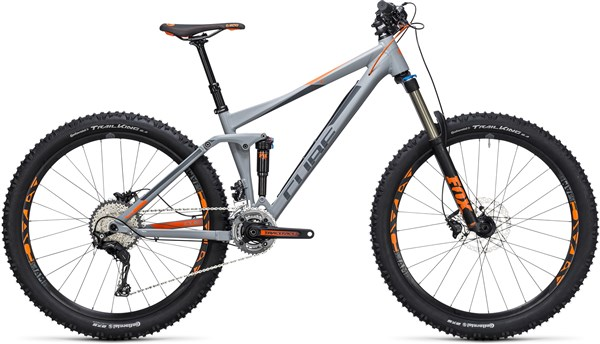 "Cube Stereo 140 HPA Pro 27.5""  Mountain Bike 2017 - Full Suspension MTB"